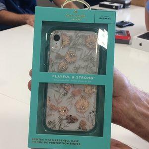 NWT Kate Spade iPhone XR Case